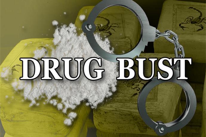 Drug Bust on Houston Harte_-1465487940780798722