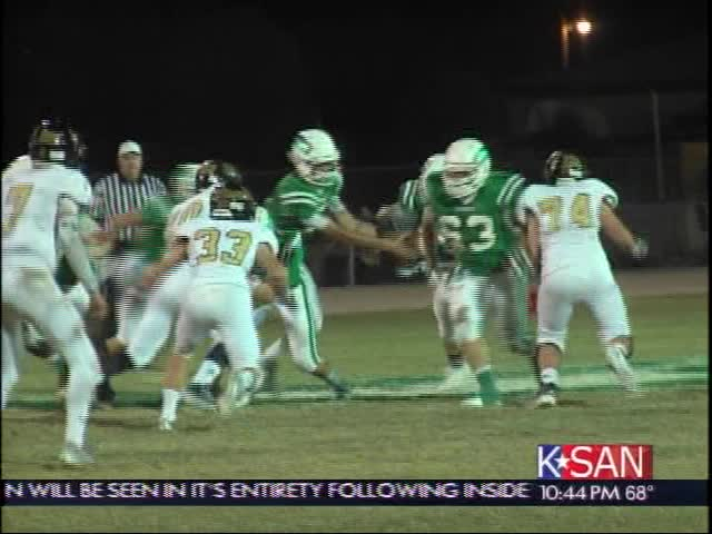 Wall Tops Brady in Big District Game 10-24-14_5559663892778340217