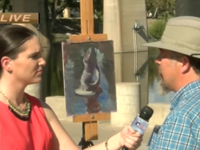 102716 En Plein Air Artist Andre Lucero on CV LIve_09846496-159532