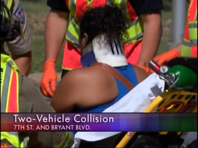 Collision During Lunch Hour Sends Driver to Hospital