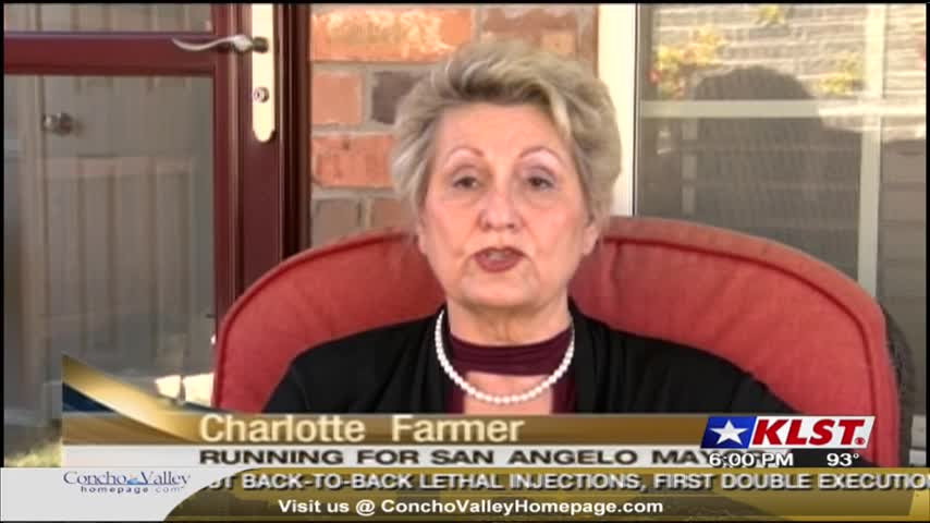 San Angelo Mayoral Candidate Profile: Charlotte Farmer