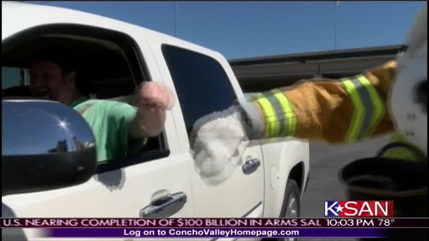Raising Money for Fire Department_25633102