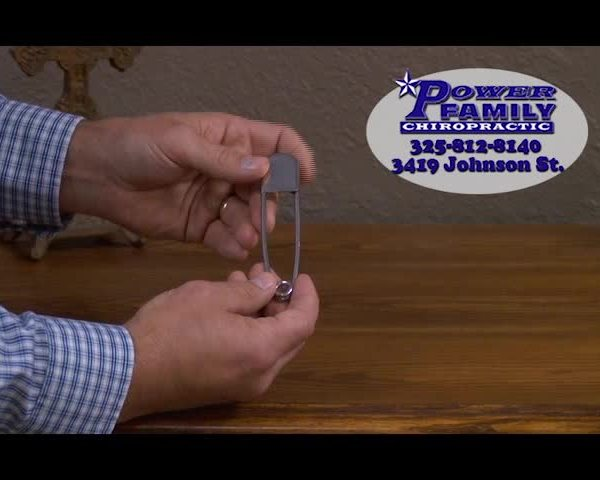 Safety Pin Demonstration - Power Chiropractic_36452893