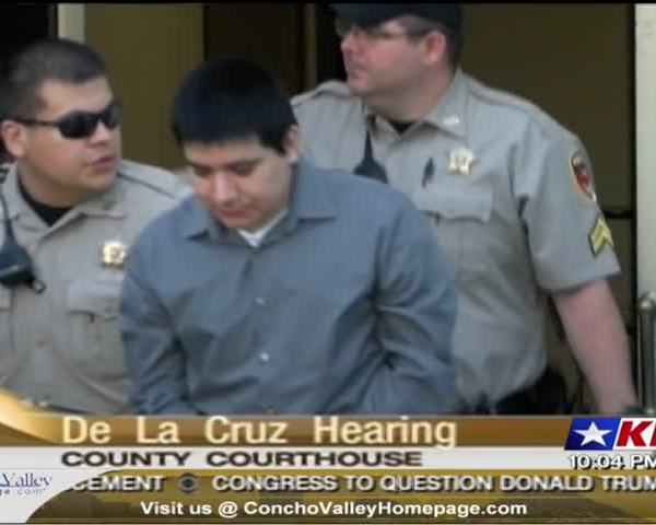 Delacruz Pre-Trial Hearing in Capital Murder Case_30992670