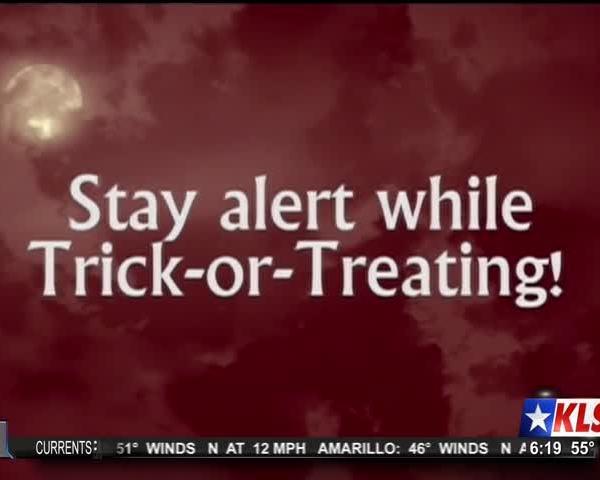 Halloween Safety Tip - Stay Alert