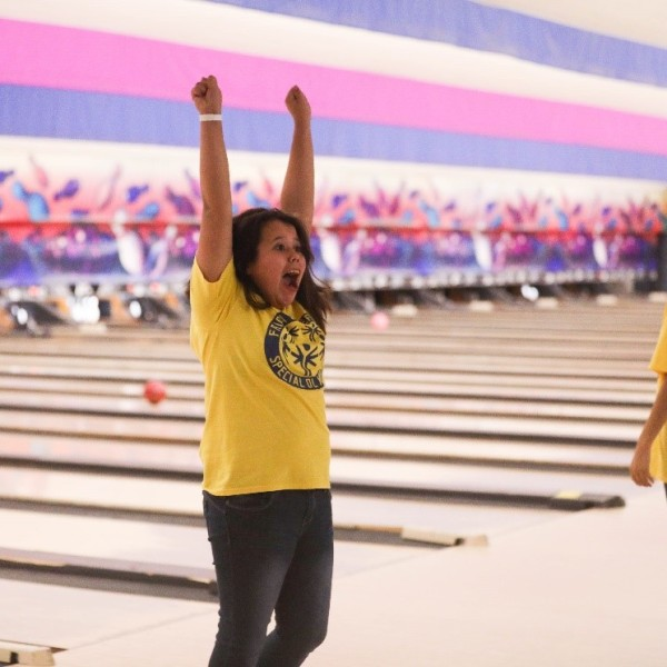 Special Olympic Bowling