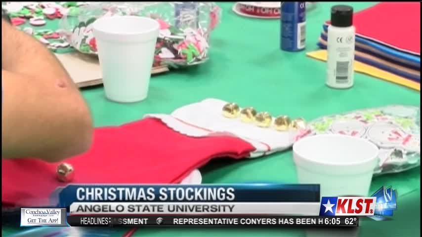 ASU Decorates Stockings for Harvey Victims_54859734