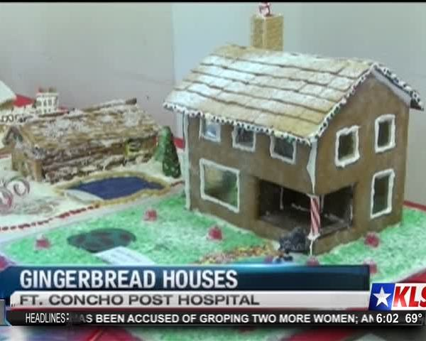 Gingerbread Contest at Old Fort Concho_92613877