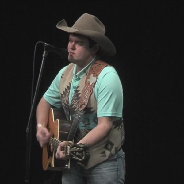 Case Hardin Performs, Concho Valley Live (February 9, 2018)
