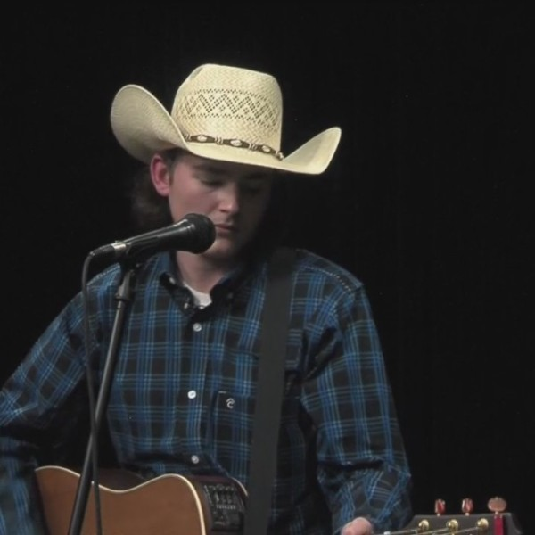 JD Hollis Performs, Concho Valley Live (February 9, 2018)