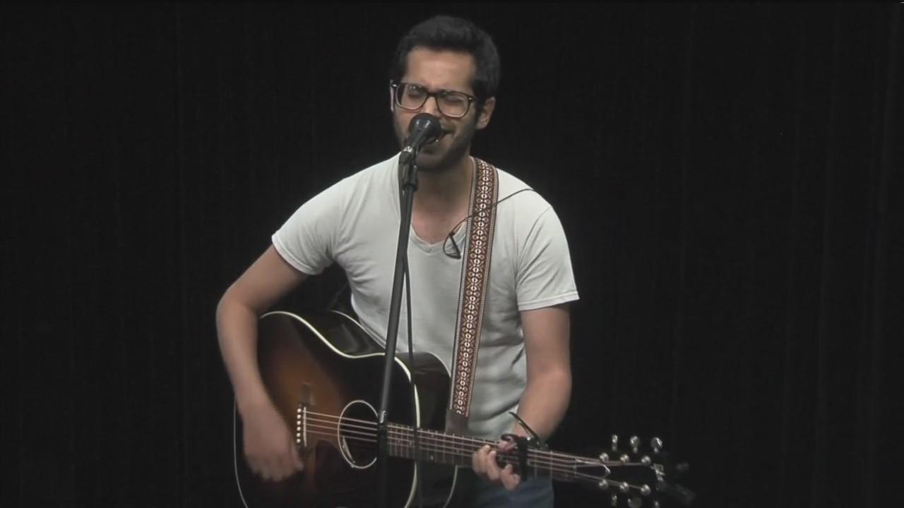 """Eddie Sanez Performs """"Hometown"""""""