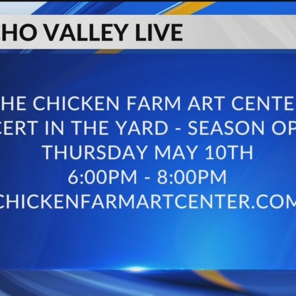 The Chicken Farm Art Center: Concert in the Yard