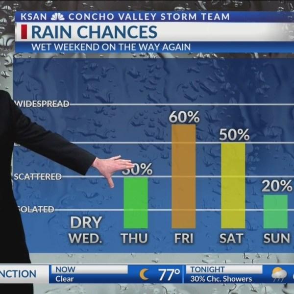 KSAN 10pm Weather - Tuesday September 18, 2018