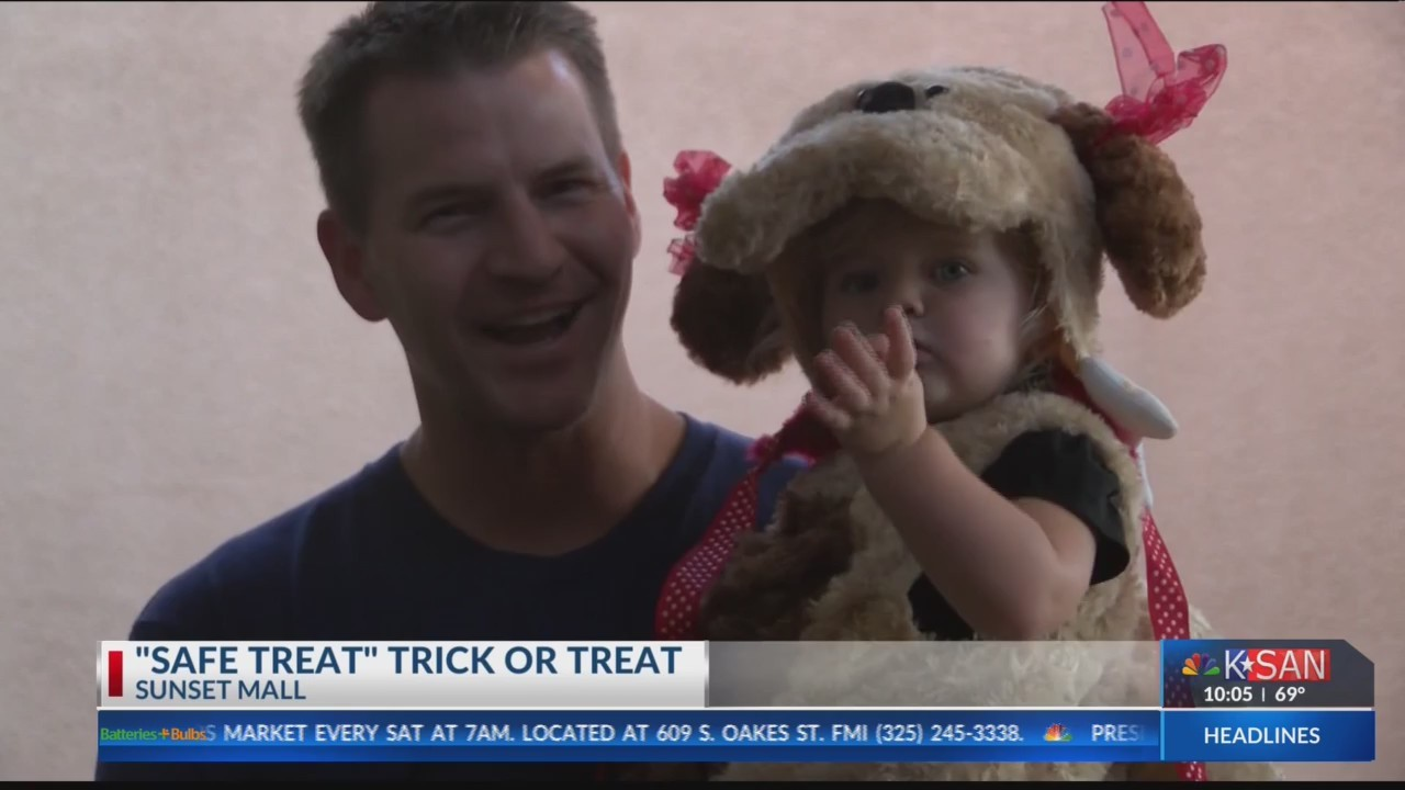 """Safe Treat """"Trick or Treat"""" at Sunset Mall"""