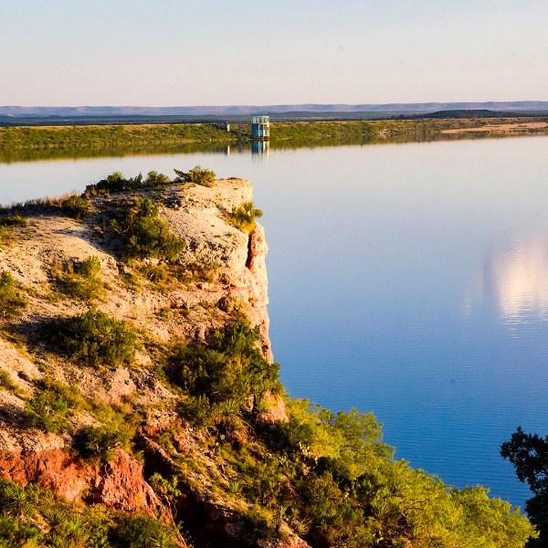 The EV Spence Reservoir