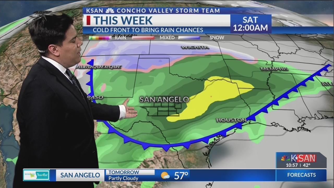 KSAN Storm Team Forecast Update - Sunday December 2, 2018