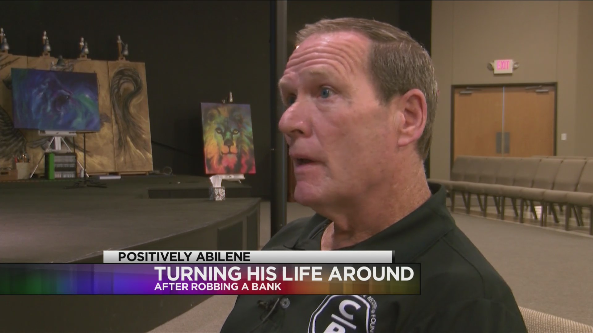 Abilene man makes a life change after attempting to rob a bank