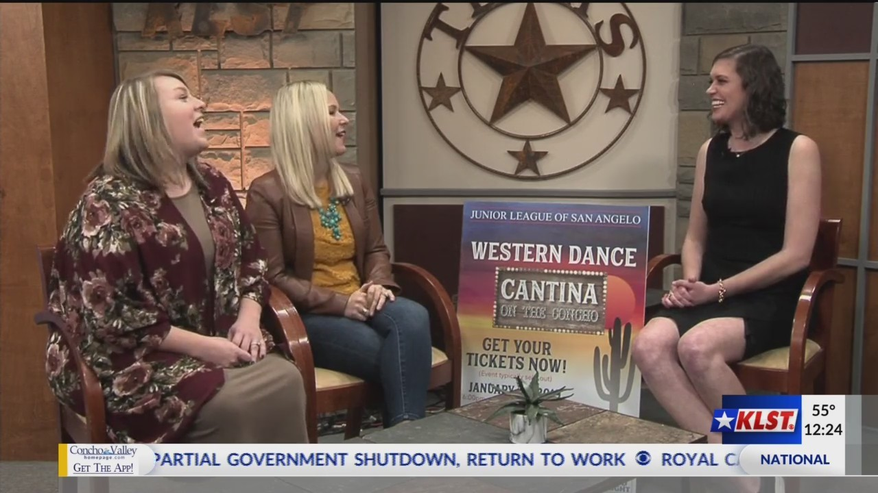 junior league western dance fundraiser cantina on the concho