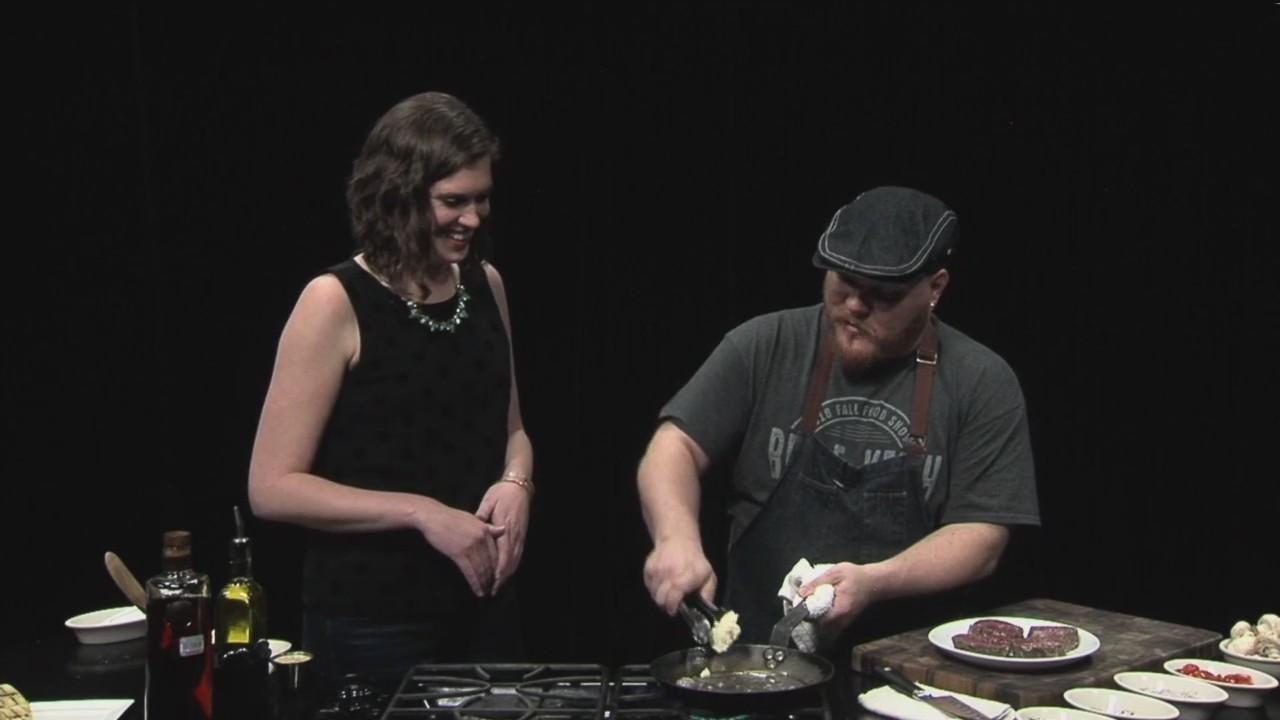 Chef Tim Condon Makes Steak Dianne-Part One