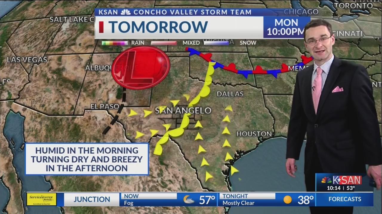 KSAN 10pm Weather - Monday February 4, 2019