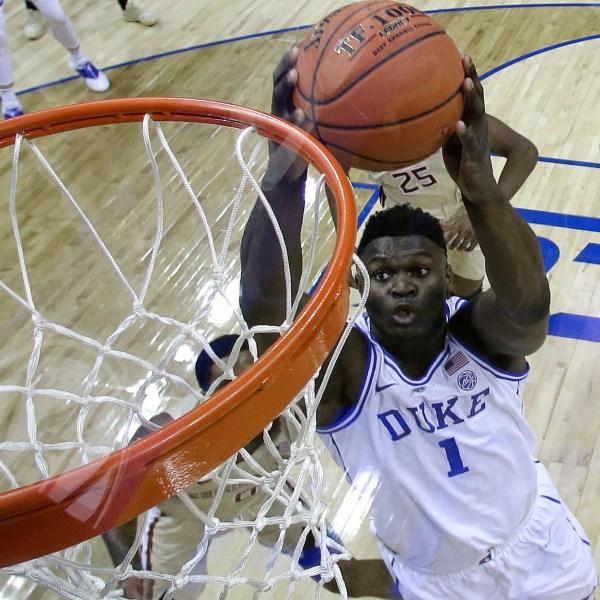 Zion Williamson Duke NCAA-846624087