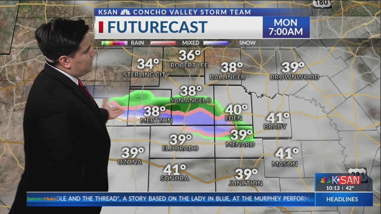 KSAN Storm Team Daily Forecast Update - March 31, 2019