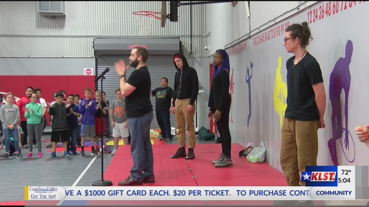 STOMP School Performance-Fort Concho Elementary