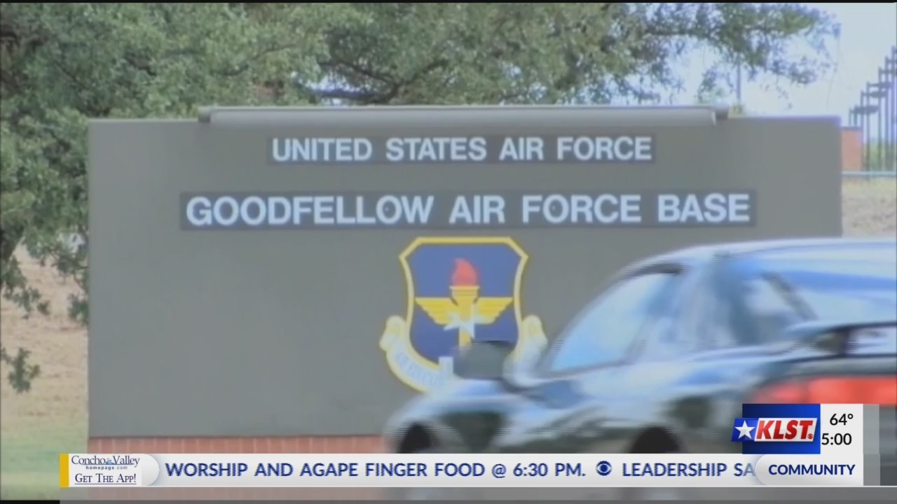 Goodfellow AFB lock down incident