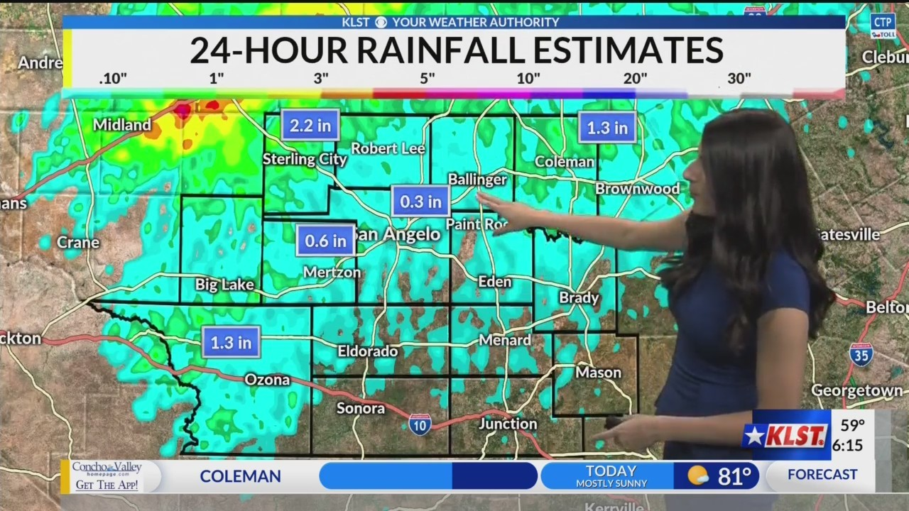 KLST AM Weather - Tuesday May 21, 2019