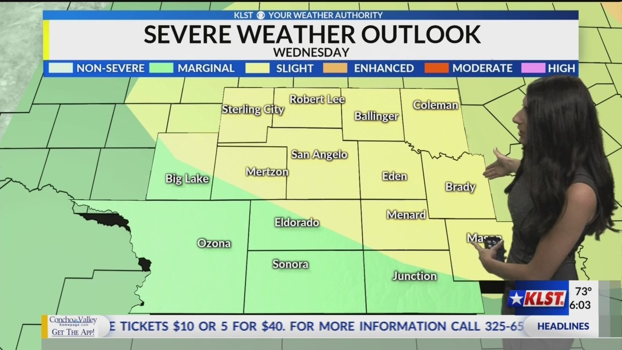 KLST AM Weather - Tuesday May 28, 2019