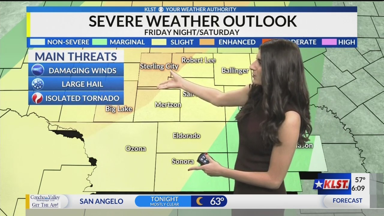 KLST AM Weather - Wednesday May 15, 2019