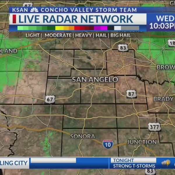 KSAN 10pm Weather - WEdnesday May 22, 2019
