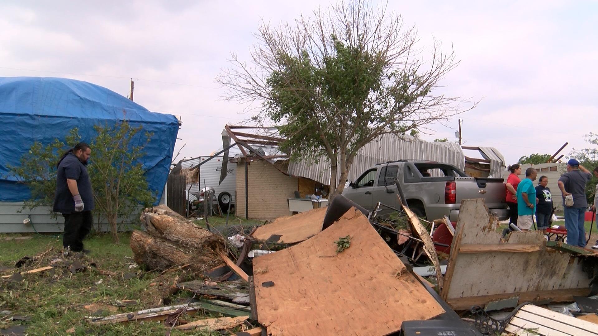 Bradford neighborhood cleanup