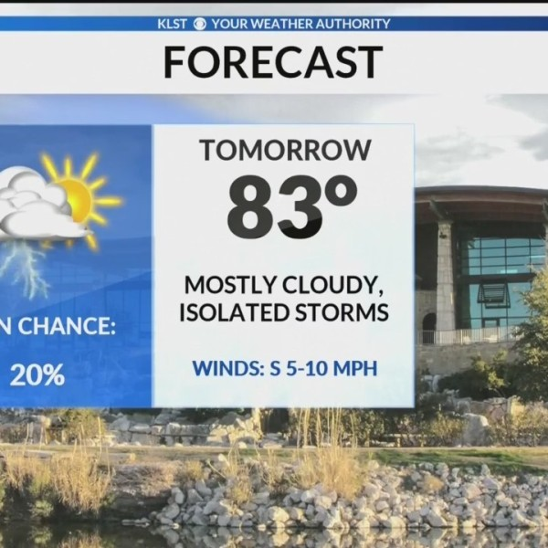 KLST AM Weather Update - Monday June 10, 2019