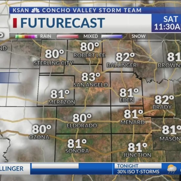 KSAN 10pm Weather - Friday May 31, 2019