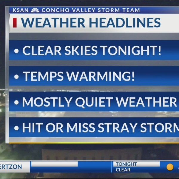 KSAN Storm Team Daily Forecast Update - Tuesday June 11, 2019