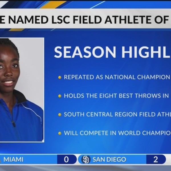 Osakue named LSC Female Field Athlete of the Year