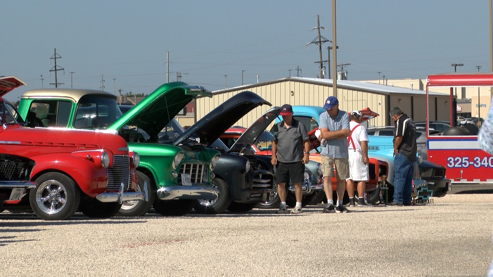 crime stoppers car show