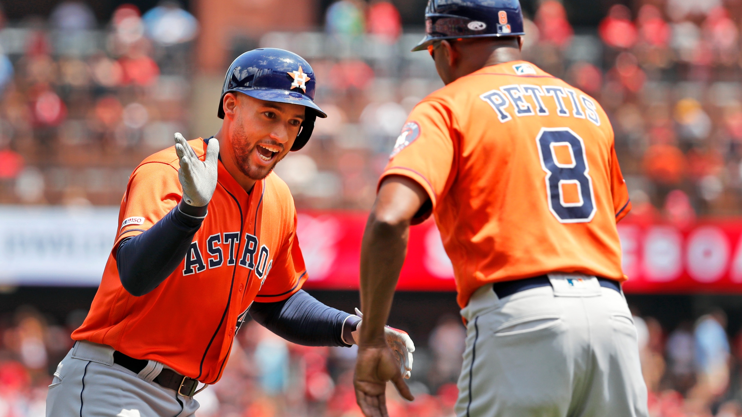 Astros Hit 3 Homers Beat Cards 6 2 Goldschmidt Streak Ends