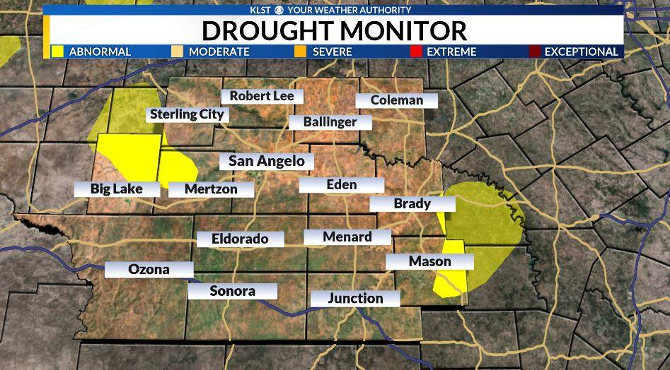 Drought Conditions Settling Into The Concho Valley