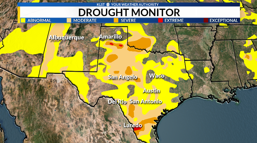 Drought Conditions Continue To Worsen Across Texas And The