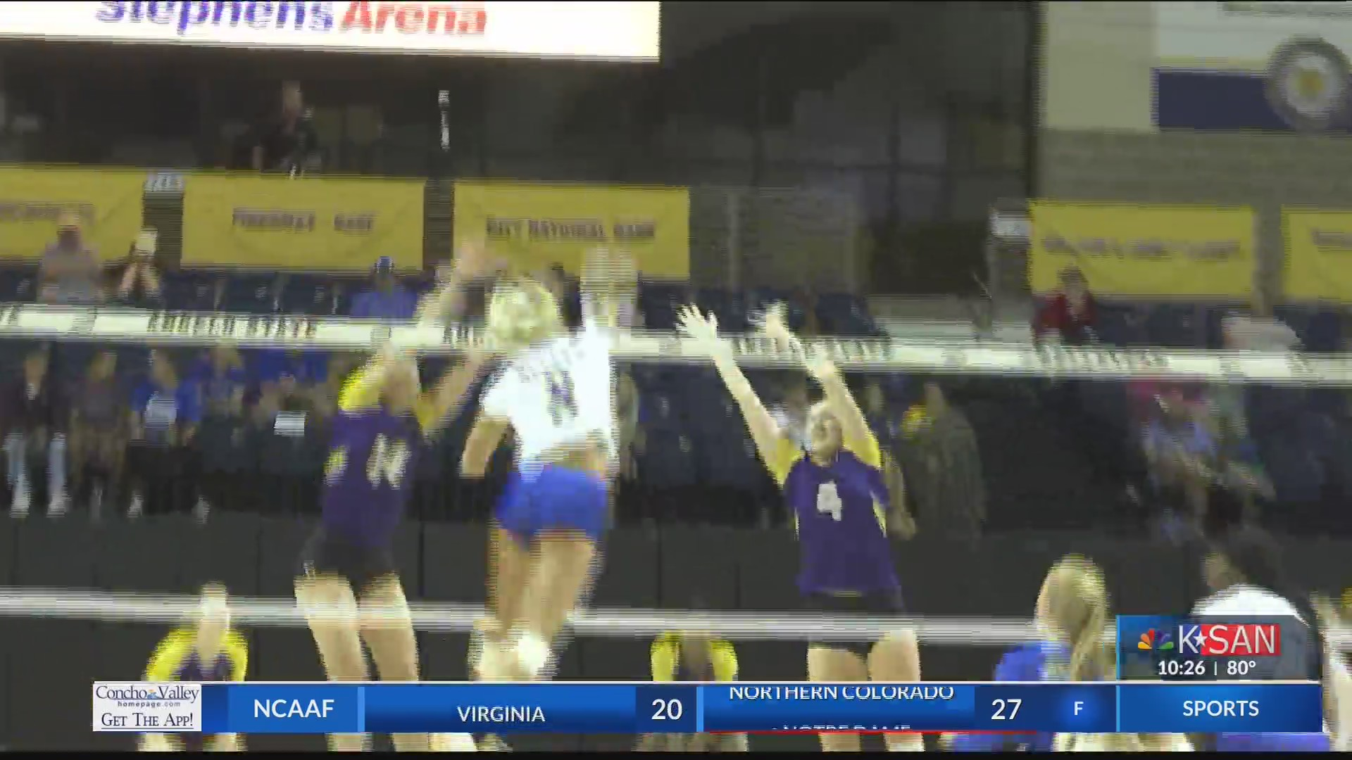 HIGHLIGHTS Angelo State Volleyball Sweeps Western New