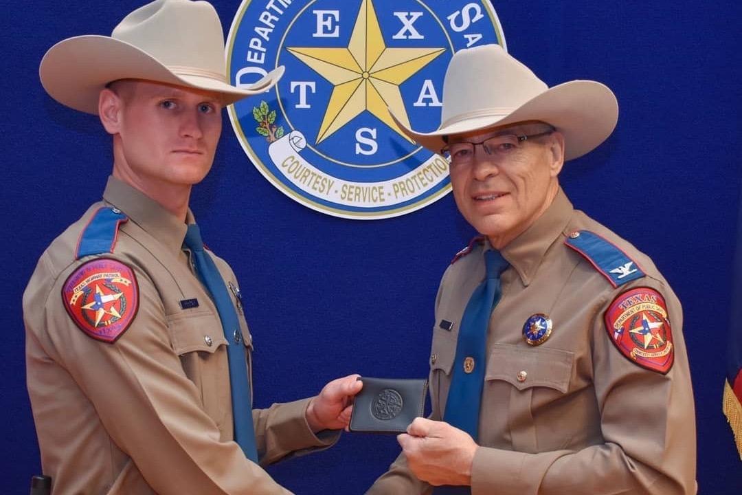 Texas State Trooper Chuck Pryor