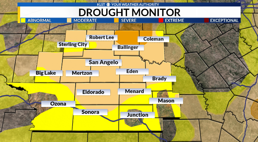 Drought Conditions Increase Further Across Parts Of Texas