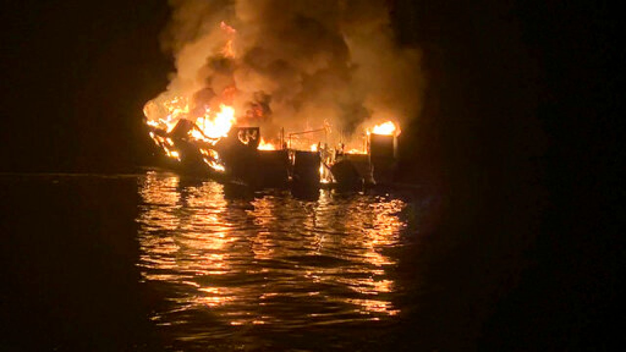 Smoke Not Fire Blamed For 34 Deaths In Dive Boat
