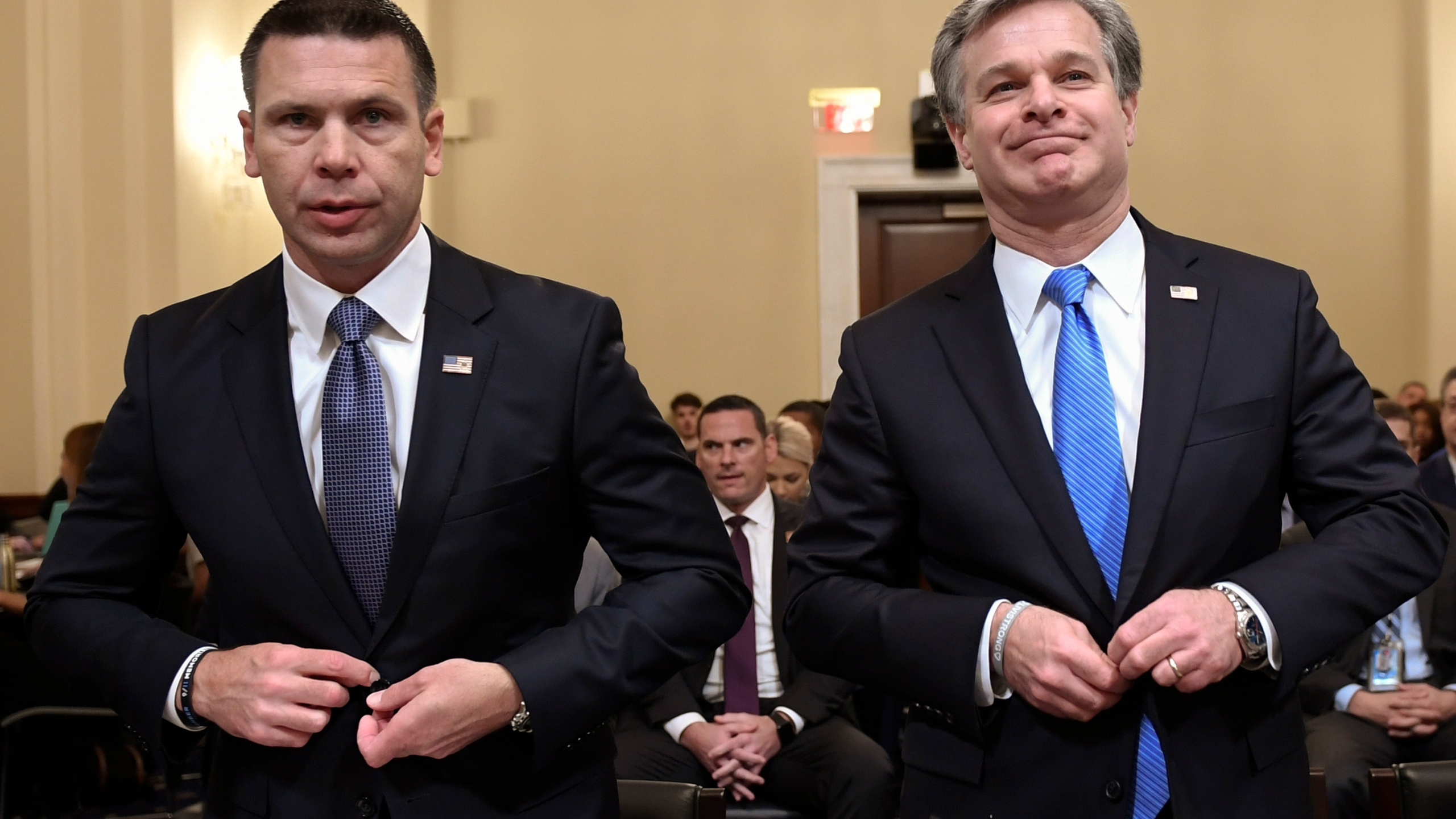 Christopher Wray, Kevin McAleenan
