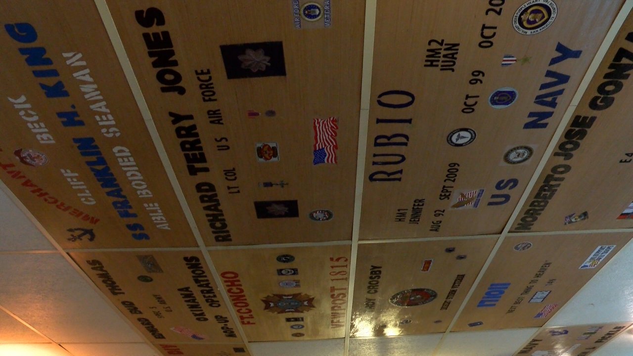Local Vfw Holding Ceiling Tile Fundraiser