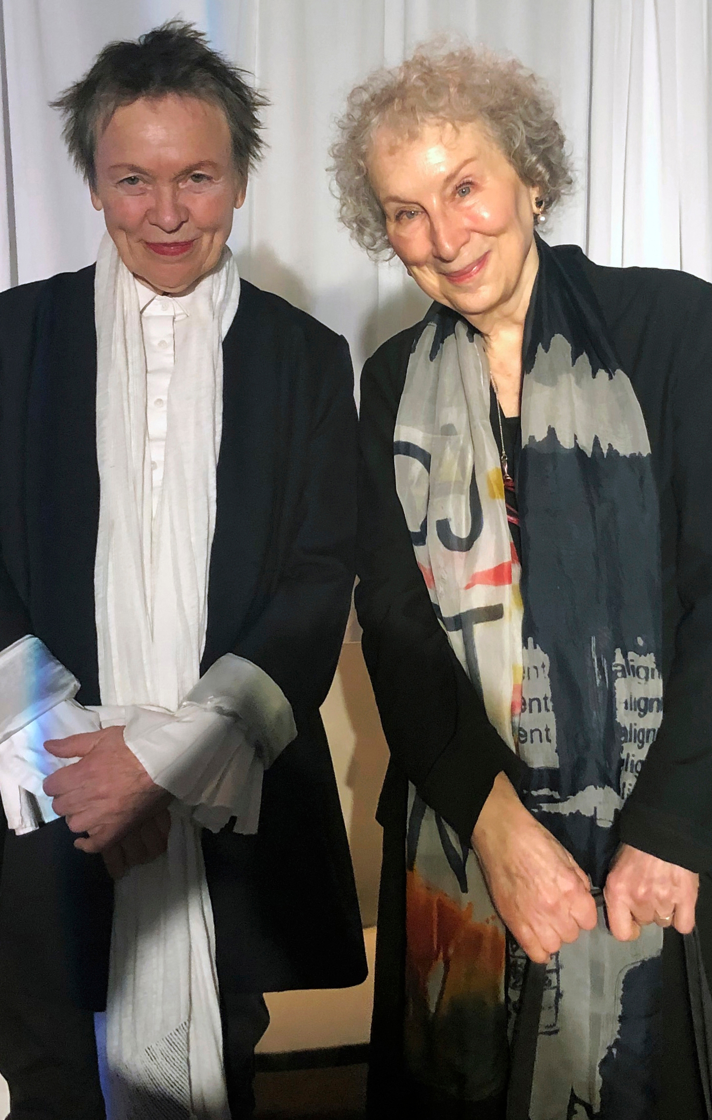Laurie Anderson, Margaret Atwood