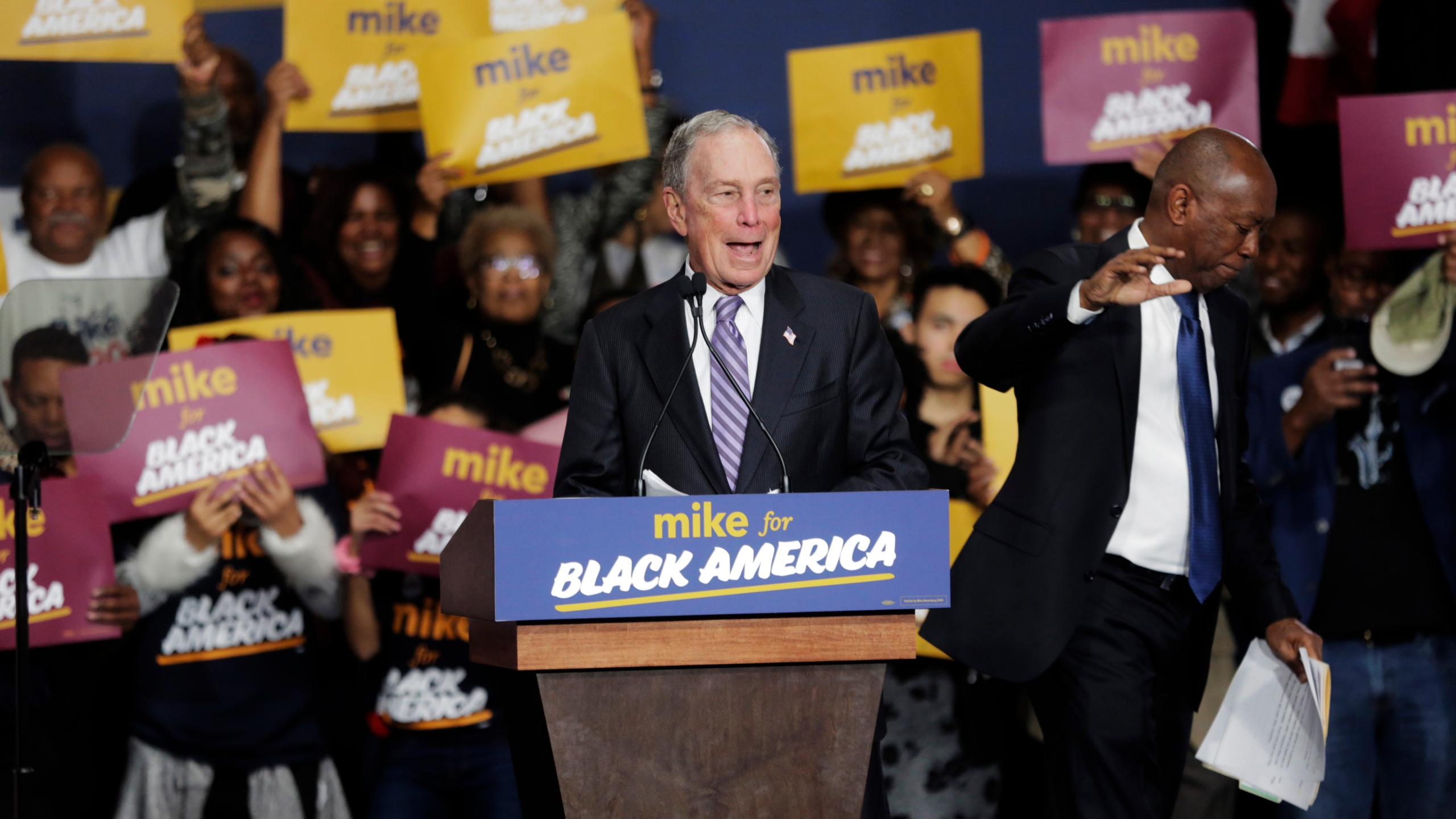 Michael Bloomberg, Mike Bloomberg, Sylvester Turner