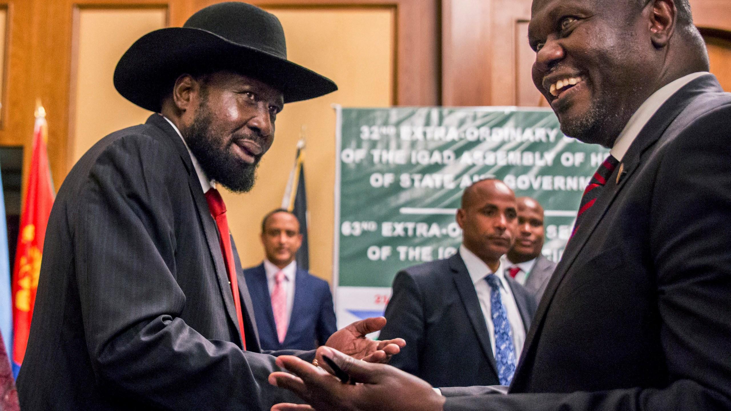 Salva Kiir, Riek Machar